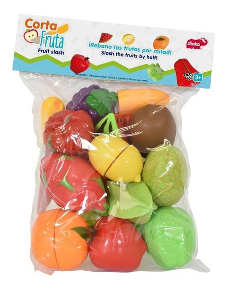 Set De Frutas De Juguete Para Partir
