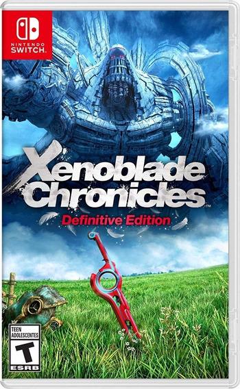 Xenoblade Chronicles Definitive Edition - Pronta Entrega Já!