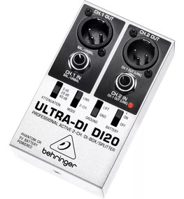 Di20 Direct Box Ativo Behringer Ultra Di-20 Di 20 Novo