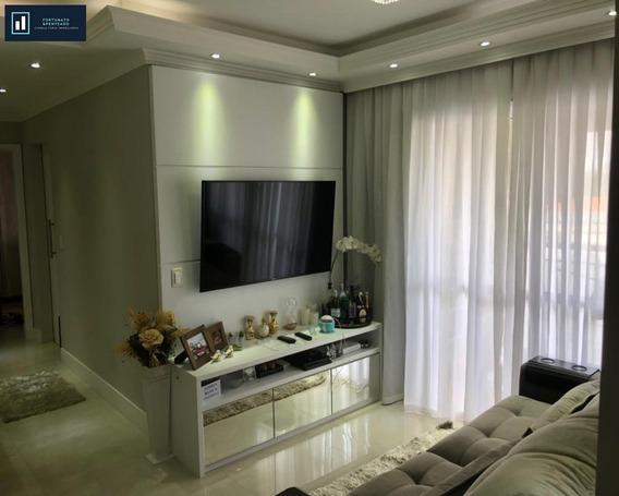 Apartamento Com Varanda Gourmet, Excelente Localização! - Ap00111 - 33547150