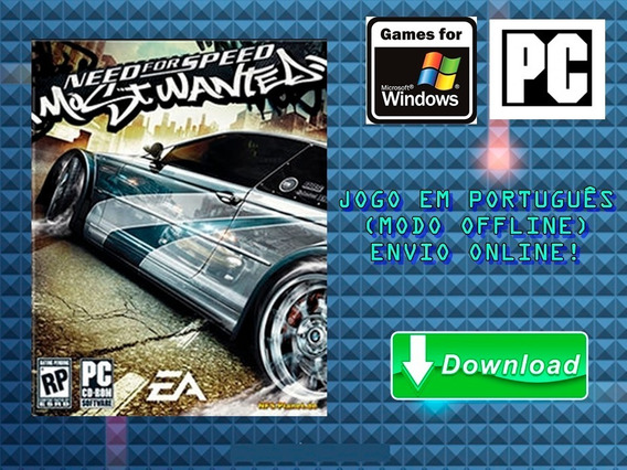 Need For Speed - Most Wanted 2005 - Pc - Mídia Digital!!!
