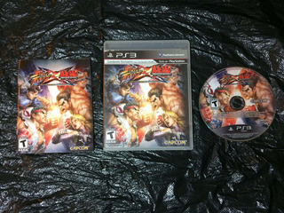 Juego Ps3 Street Fighter X Tekken
