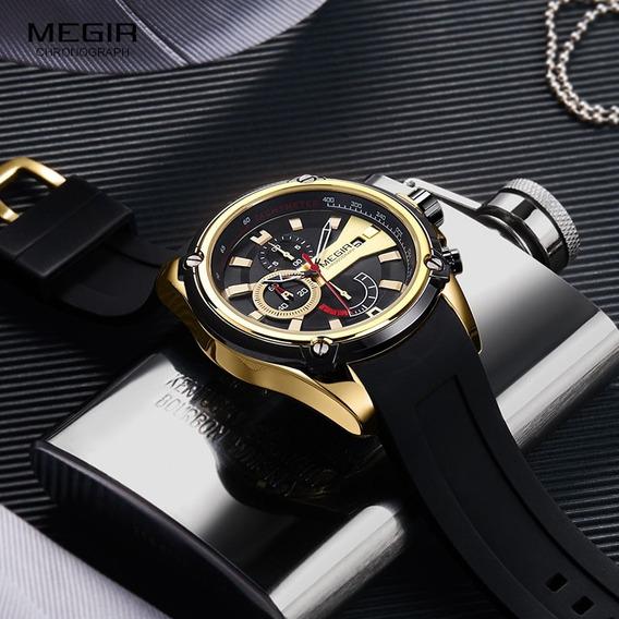 Relógio Megir 2086 Automático-relógio Masculino Original)