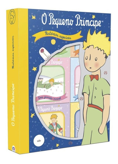 Livro Box Com 6 Mini Livros- O Pequeno Príncipe - Historias