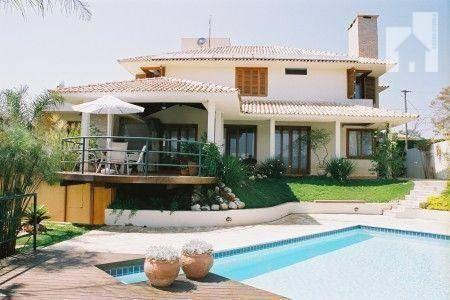 Casa Com 4 Dormitórios À Venda, 420 M² - Condomínio Champs Privés - Pau Arcado - Campo Limpo Paulista/sp - Ca0219