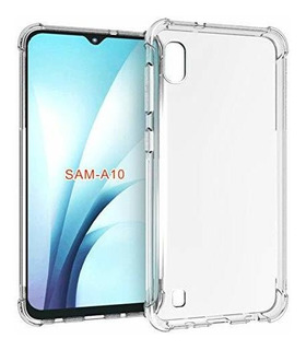 Carcasa Para Samsung Galaxy A10, Tpu Suave, Transparente, De