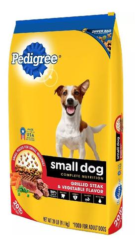 Imagen 1 de 1 de Pedigree Razas Pequeñas 20 Lbs Carne (alimento Para Perros)
