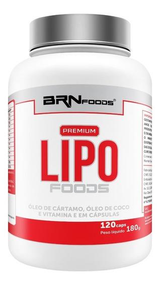 Premium Lipo Foods 120caps - Brn Foods - 3x Frete Grátis!
