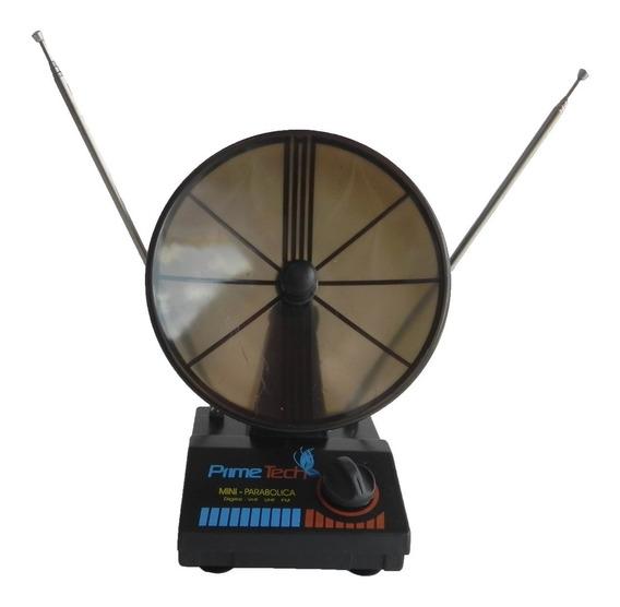 Mini Parabólica Prime Tech Interna 4x1 Uhf Vhf Fm Digital