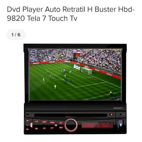 Som De Carro Dvd Com Tela Touch