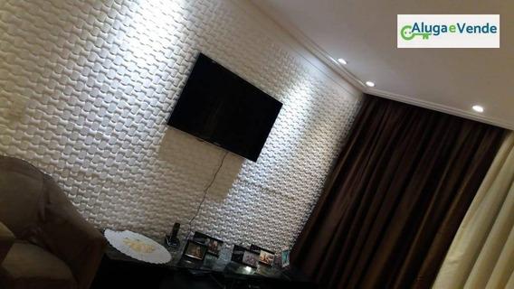 Apartamento Com 3 Dormitórios À Venda No Condomínio Supera Guarulhos , 110 M² Por R$ 610.000 - Vila Augusta - Guarulhos/sp - Ap0036