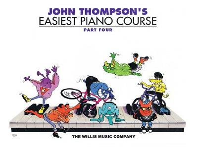 Imagem 1 de 1 de Easiest Piano Course Part 4 C/ Cd - John Thompson's