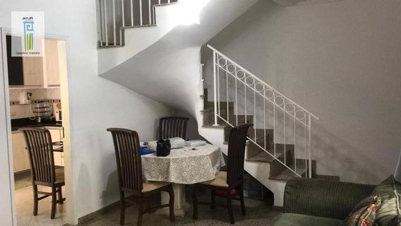 Sobrado Com 3 Dormitórios À Venda, 150 M² Por R$ 420.000 - Horto Florestal - São Paulo/sp - So0246