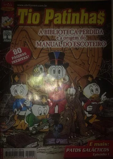 Tio Patinhas #494 Don Rosa (2006)