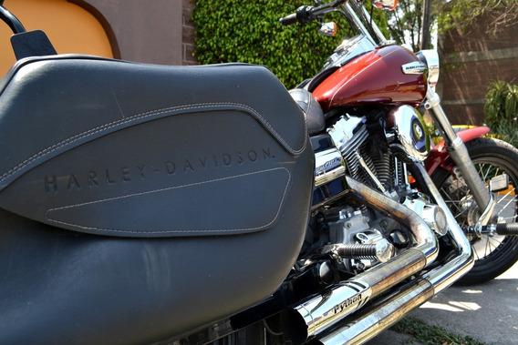 Poderosa Harley Dyna Super Glide 1584cc Equipada 6 Vel.