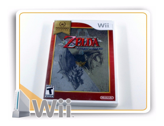 The Legend Of Zelda Twilight Princess Original Nintendo Wii