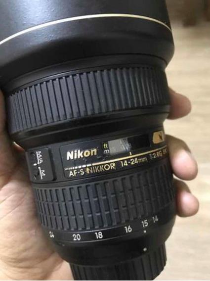 Lente 14 - 24 2.8 Nikon (novíssima)