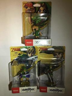 Amiibos Zelda Link Pack De 3