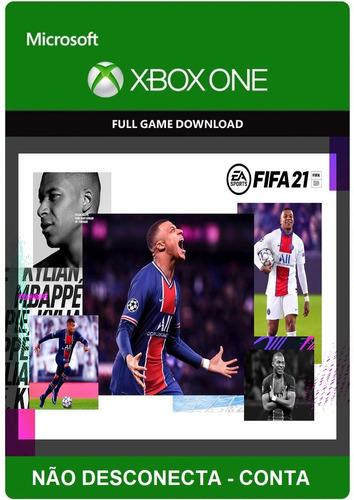 Fifa 21 Xbox One Mídia Digital - Original Em Português