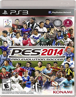 Juego Ps3 Pro Evolution Soccer Pes 2014 En Disco Sellado