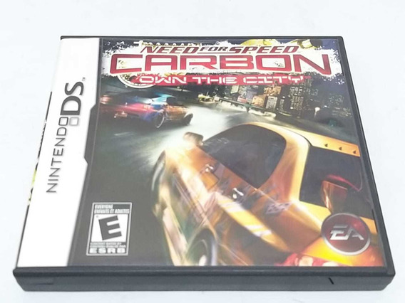 Need For Speed Own The City Nintendo Ds Completo