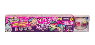 Shopkins Wild Style Mega Pack 20 Figuras Stickers 56703 Edu