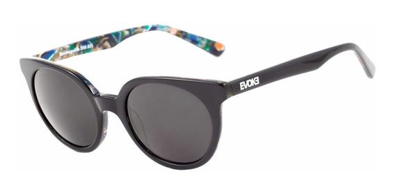 Evoke Kosmopolite Ds2 - Óculos De Sol A01 Black Shine & Mult