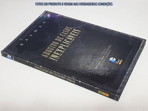 Livro Capa Dura: Batman - Arquivo De Casos Inexplicáveis