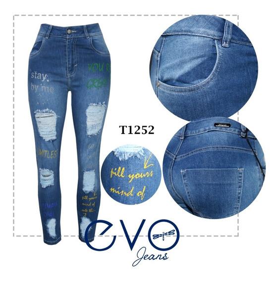 Pantalon Evolution Jeans Para Dama Mercadolibre Com Mx