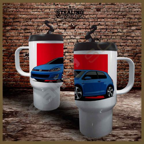 Jarro Termico Café | Volkswagen #0020 | Gti Kombi Vw Gli