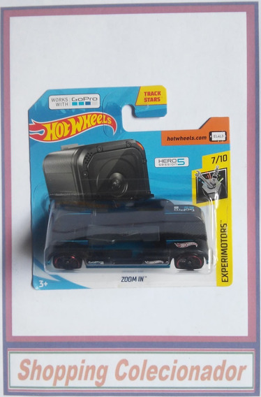 Hot Wheels - Zoom In Suporte Para Gopro