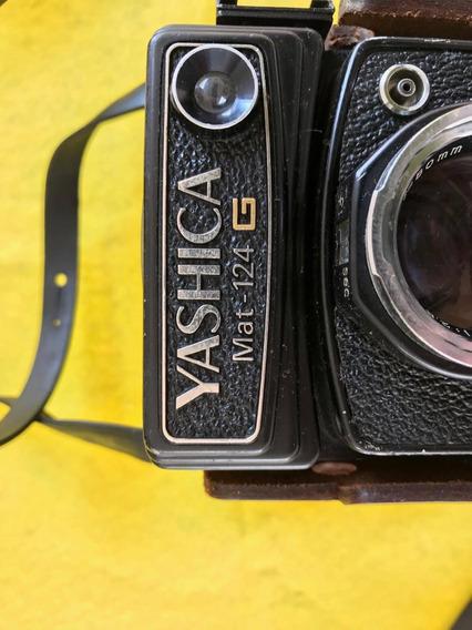 Câmera Yashica Mat124g Impecável (1950)