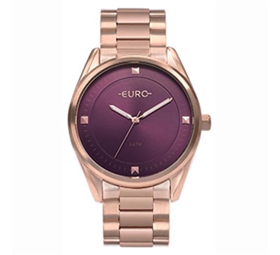 Relógio Euro Feminino Rosé Eu2036yod/4n