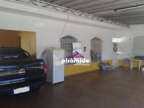 Casa Com 3 Dormitórios À Venda, 233 M² Por R$ 570.000,00 - Monte Castelo - São José Dos Campos/sp - Ca3734