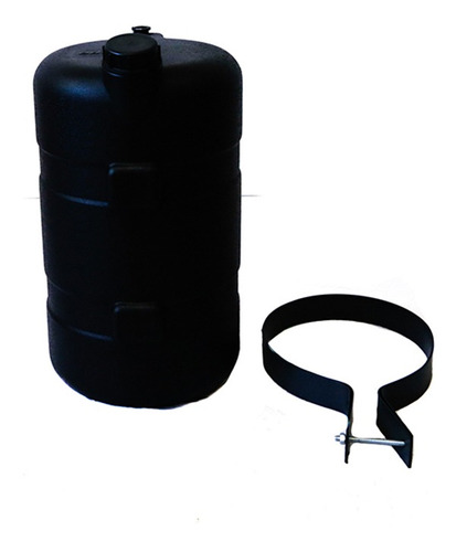 Tanque De Agua Bepo 26 Litros Negro  Cuotas