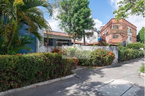 Casa Com 6 Dormitórios, 432 M² - Venda Por R$ 1.600.000,00 Ou Aluguel Por R$ 7.000,00/mês - Ilha Do Leite - Recife/pe - Ca0077