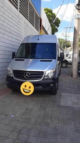 Imagem 1 de 12 de Mercedes-benz Sprinter Van 2018 2.2 Cdi 515 Teto Alto 5p