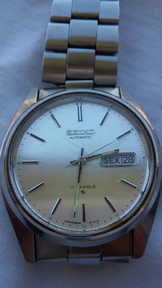 Relógio Seiko Automatic 17 Jewels 6309-8020 (03f)