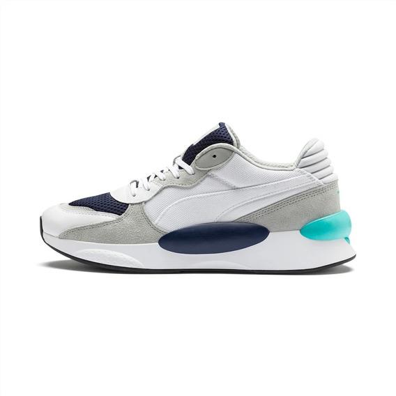 Tenis Puma Rs 9.8 Cosmic Blanco/azul 370367 01
