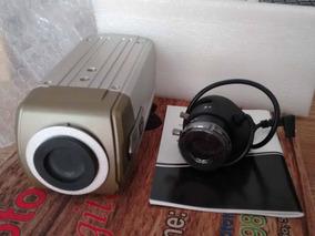 Lente Varifocal Prof. Xlp 2812r + Camera Prof. Intelbras 600