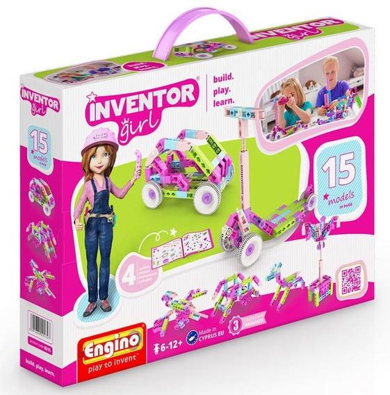 Inventor Girl Juego Para Armar Technic Engino 15 Modelos
