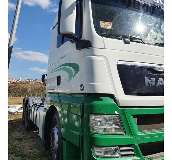 Man 28440 Tgx 2017 Cavalo Truck 6x2 Teto Alto=31440