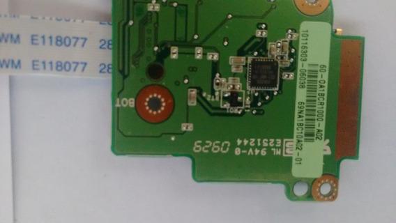 Placa Leitor Cartão Sd Netbook Asus Eee Pc 1101 Ha C/flat
