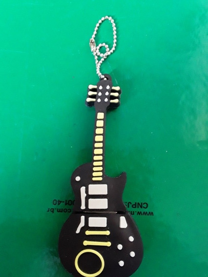 Pendrive Personalizado Guitarra 4 Gb