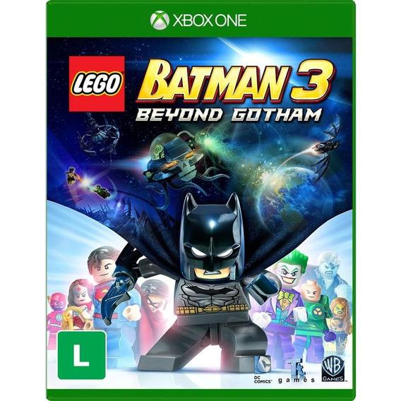 Jogo Lego Batman 3 Xbox One Disco Físico Original Nacional