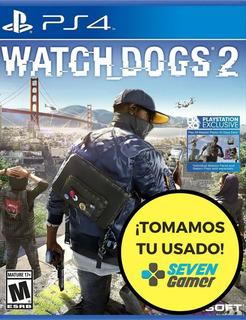 Watchdogs 2 Ps4 Juego Fisico Sellado Original Sevengamer