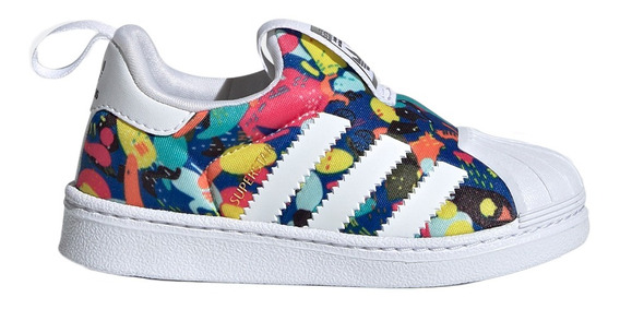Zapatillas adidas Originals Moda Superstar 360 I Bebe Az/am