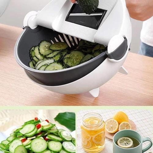 Mandolina Cortador Rallador De Verduras + Colador + Bowl Ofe
