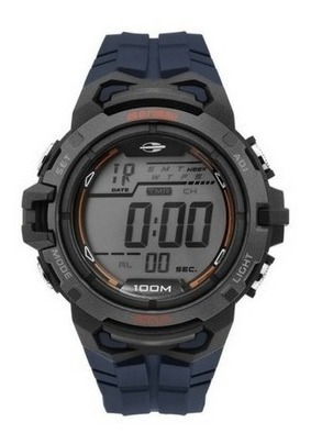 Relógio Mormaii Masculino Digital Azul Mo1147a/8a