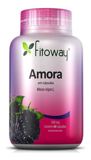 Amora Controle Da Menopausa Fitoway - 60 Caps
